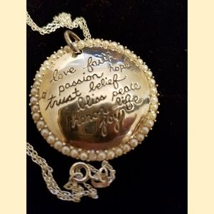 Jewelry - Sterling Silver Quote Necklace